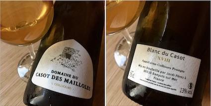 Ce vin délicieux, qui hésite entre miel et kumquat....