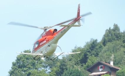 L'hélicoptère, avenir du traitement des vignes ?