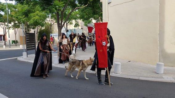 Louvetiers aux journées médiévales de Vic