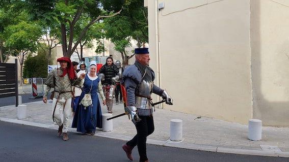 Journées médiévales à Vic la Gardiole nobles