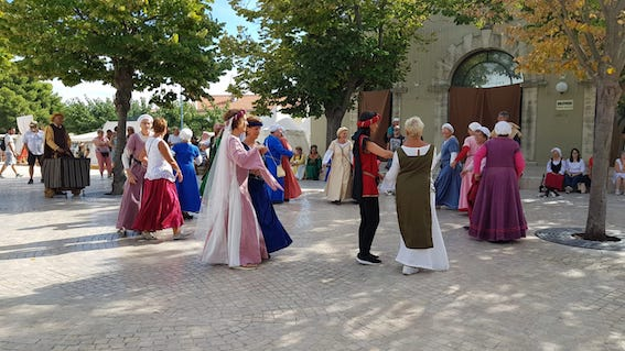Danse aux journées médiévales de Vic la Gardiole 2018