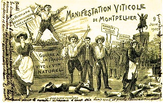 Révolte vigneronne montpellier