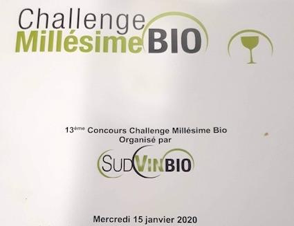 Challenge Millésime Bio Invitation