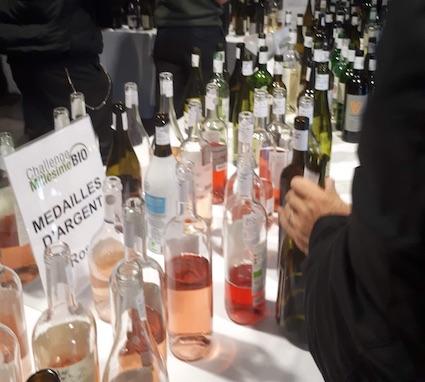 déguster les vins au challenge millésime bio 2020