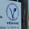 Vin vegan Label
