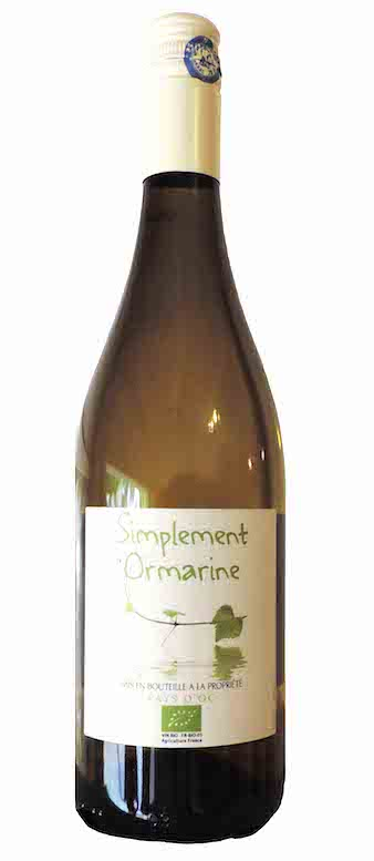 Simplement Ormarine Blanc Bio