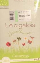 Cigalois Naturellement blanc bag in box 5l